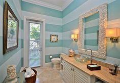 20 Beautiful Beach Bathroom Decors