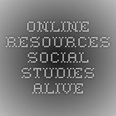 Online Resources Social Studies Alive Social Studies, Curriculum, Adoption, United States, Study, Resume, Foster Care Adoption, Studio, Teaching Plan