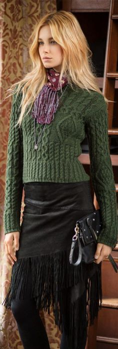 With its meticulously knit Fair Isle pattern, this wool-blend ...
