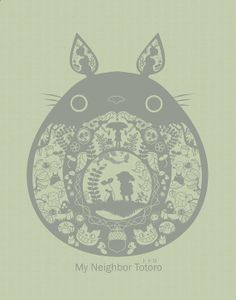 ummmm, AMAZING totoro papercut print for me. i mean, for the boys. erm, yeah, the boys. :)