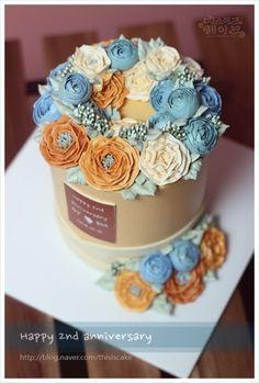 """::: """"결혼기념일 케이크"""" ::: : 네이버 블로그"""