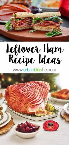 Easy sliced ham recipes