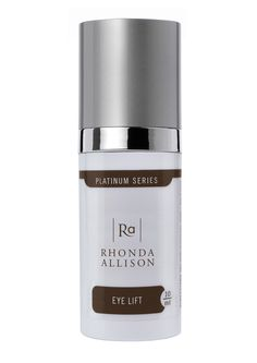 *Do not like this, NOT moisturizing at all. I think it make actually be drying. Not allergic though so no eye irritation.*Rhonda Allison Eye Lift Treatment .33oz $27 (1 oz $69) stimulates collagen production to repair the delicate skin around the eyes and diminish fine lines and wrinkles.