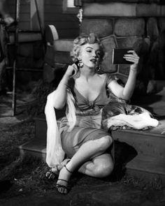 "Marilyn Monroe in ""Niagara,"" 1953."