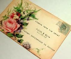 victorian wedding postcard - Google Search