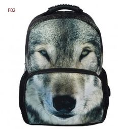 backpack student   adult wolf F02 7a13ba8209d0c