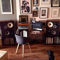 Beautiful Listening Space...Record Collection #vinyl