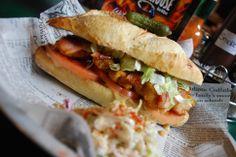 Pulled pork, brisket, chicken but also Louisiana po'boys #waterloo #lancaster #smokehouse