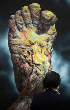 GLENN BROWN http://www.widewalls.ch/artist/glenn-brown/ #contemporary #art #computer #art