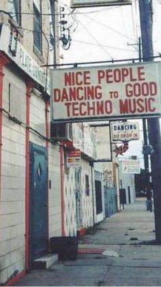 Nice People Dancing to Techno Music