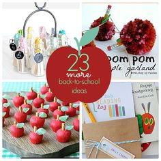 23 fun back to school ideas