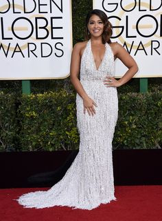 "Gina Rodriguez, nominee for Best Performance by an Actress in a Television Series (Musical or Comedy) for her role in ""Jane the Virgin."""