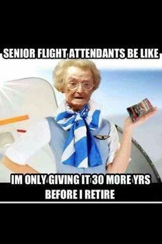 Oh senior mamma flight attendants