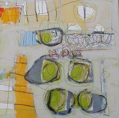 Yellow Column 1 : Archive of Sold Work : Susan Finsen - Mark Maker