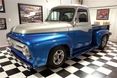 1953 FORD F-100 CUSTOM PICKUP - Barrett-Jackson Auction Company - World's Greatest Collector Car Auctions