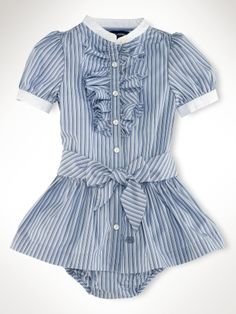 why yes, that is the cutest little baby dress I've ever seen.