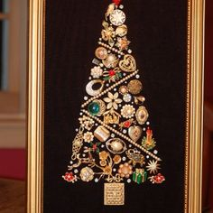 Jewelery Tree (you can buy odd pieces at thrift stores)