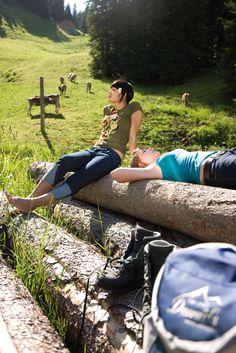 """Die herrliche und intakte Natur rund um Ihren Ferienort Damüls zwischen dem Bregenzerwald und dem Großen Walsertal ist der perfekte """"Spielplatz"""" für Outdoor-Fans."""