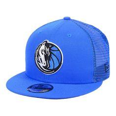 quality design 0436c f105e Dallas Mavericks New Era Nothing But Net 9FIFTY Snapback Hat – Blue, Your  Price   31.99
