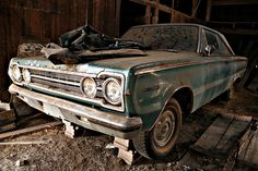 Barn Find Plymouth Belvedere