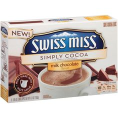I received a sample of the new Swiss Miss Simply Cocoa in my @influenster #modavoxbox    Can't wait to try it out!