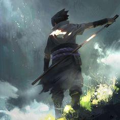 Sasuke by cl z on ArtStation.