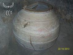 Urandir - Recipiente de armazenamento de vinho encontrado na Cidade Subterrânea de Yeralti Sehri