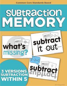 KindergartenWorks: subtraction - am I the last one?