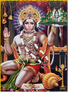 "☀ SHRI HANUMAN ॐ ☀ Artist: Yogendra Rastogi ""This individual soul is unbreakable and insoluble, and can be neither burned nor dried. He is everlasting, present everywhere, unchangeable, immovable and. Shiva Art, Shiva Shakti, Arte Krishna, Hanuman Ji Wallpapers, Hanuman Images, Hanuman Photos, Krishna Images, Ram Image, Hindu Worship"
