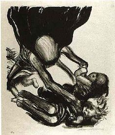 Kathe Kollwitz - Death Seizes the Children 1934