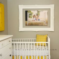 #Frame around #canvas, nice graphic statement in a child's space!