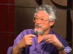 """""""We're in a giant car heading toward a brick wall and everyone's arguing over where they're going to sit."""" -     David Suzuki speaks out against genetically modified food - Digital Archives - CBC Player"""