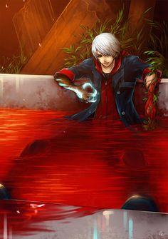 Devil_May_Cry: Nero by *UdonNodu on deviantART
