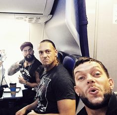 Finn,Enzo Amore and Big Cass