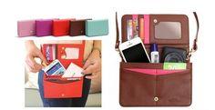 Dove and Squirrel Collection Shoulder Strap Clutch Handbag - 5 colors