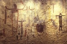 Some of the earliest evidence of gathering honey from wild colonies is from rock paintings dating to around 13,000 BCE.