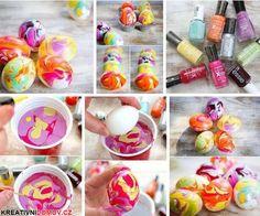 Barvíme pomocí laku na nehty