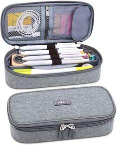 Cute Pencil Pouches, Pencil Boxes, School Equipment, School Pencil Case, Cool School Supplies, Best Amazon Deals, Pen Case, Stationery, Pen Organizer