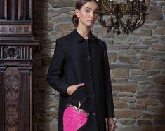 Migliore AISHHA Abito Cappotto Nero Giacche e cappotti