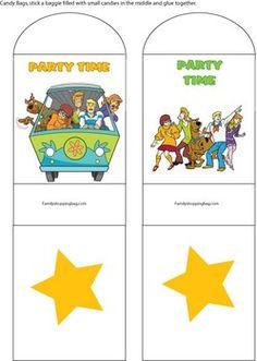 54 Best Scooby Doo Birthday Printables Images Printables Sweet