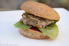 Clean Eating Baked Turkey Burgers