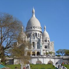 Sacre Couer in Paris.  A bit of a hike to get to the top of that hill, but well worth it!