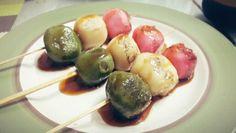Dango . japan rice cake