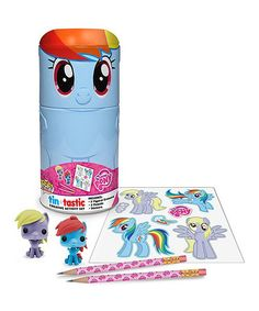 Look what I found on #zulily! Rainbow Dash Tin-Tastic Set by My Little Pony #zulilyfinds