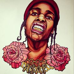 """""""Who's got the trillest A$AP fan art?"""" Submit your paintings, drawings or other artwork to fans@asapmob.com for an opportunity to be featured on the A$AP Mob site!"""