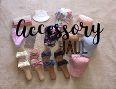 Spring & Summer Accessory Haul - Jewelry, Hats, Baseball Hats, Shoes, Sandals and Wallet. Instagram : kp_styledoll YouTube.com/kp_styledoll