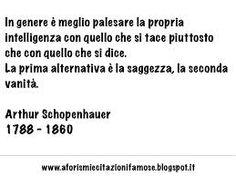 Risultati immagini per schopenhauer frasi