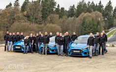 The Ford Focus RS has been declared 2016 Car of the Year at the Vehicle Dynamics International Awards as UK orders pass 3,000.