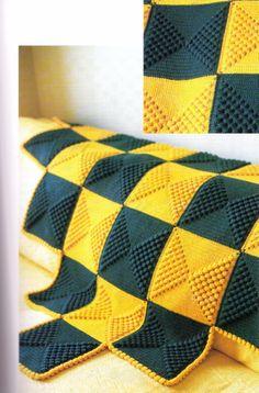crochet rugs & throws 3