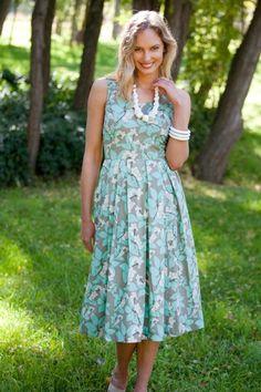 that bird label Lori Fit & Flare Dress Berry Delight - Womens Knee Length Dresses - Birdsnest Clothing Online